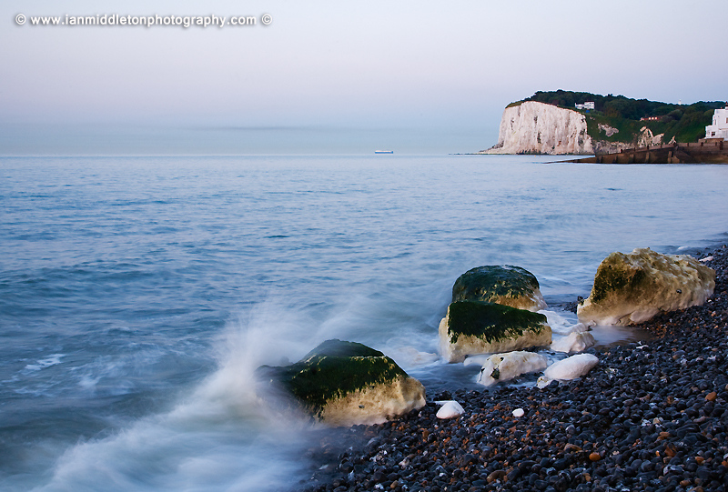 Saint Margaret Bay, at the famous White Cliff of Dover, Kent, England