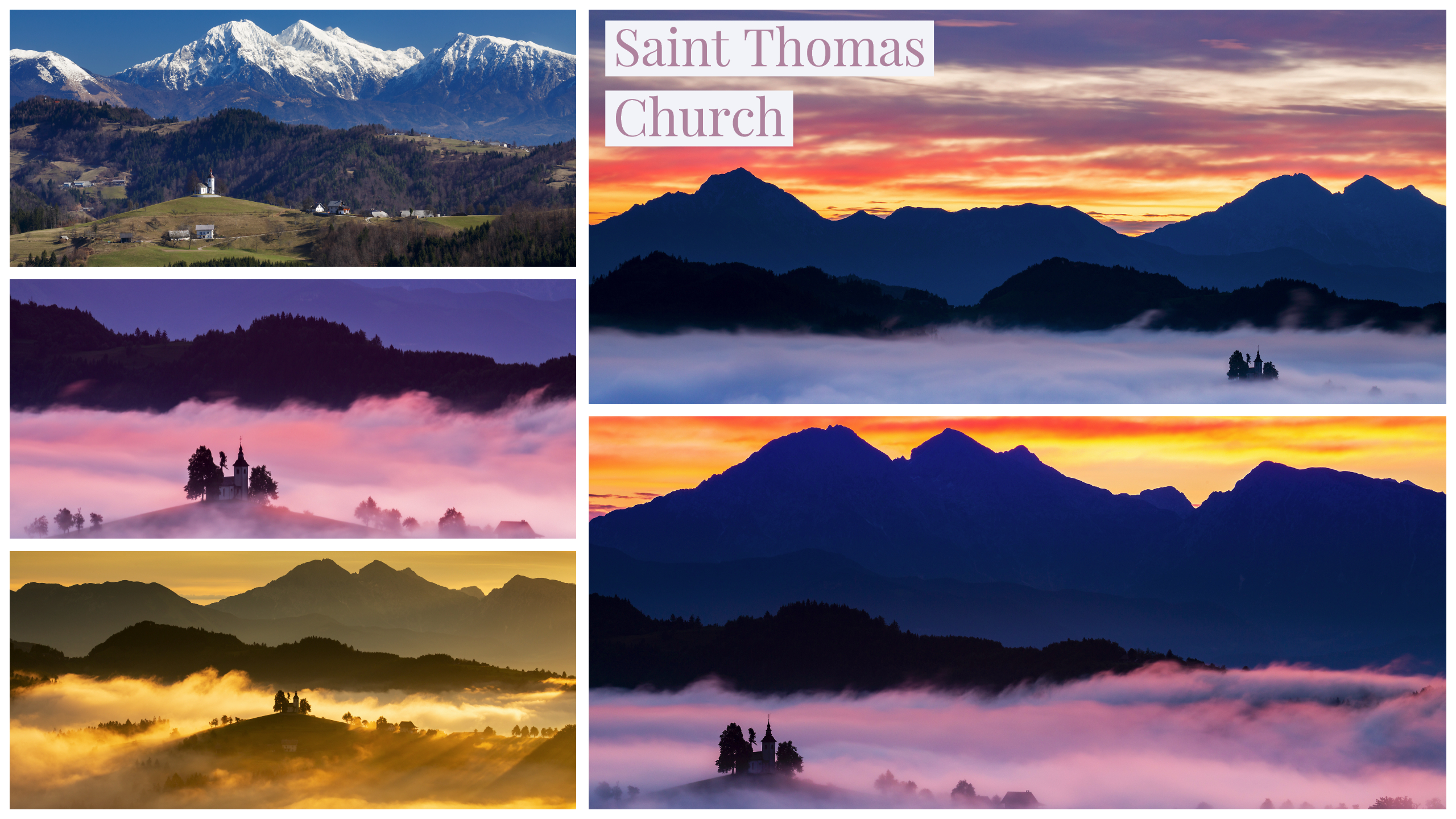 Guide to photographing saint thomas church in Slovenia