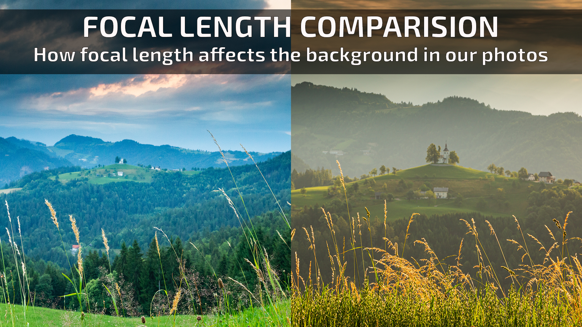Focal length comparision