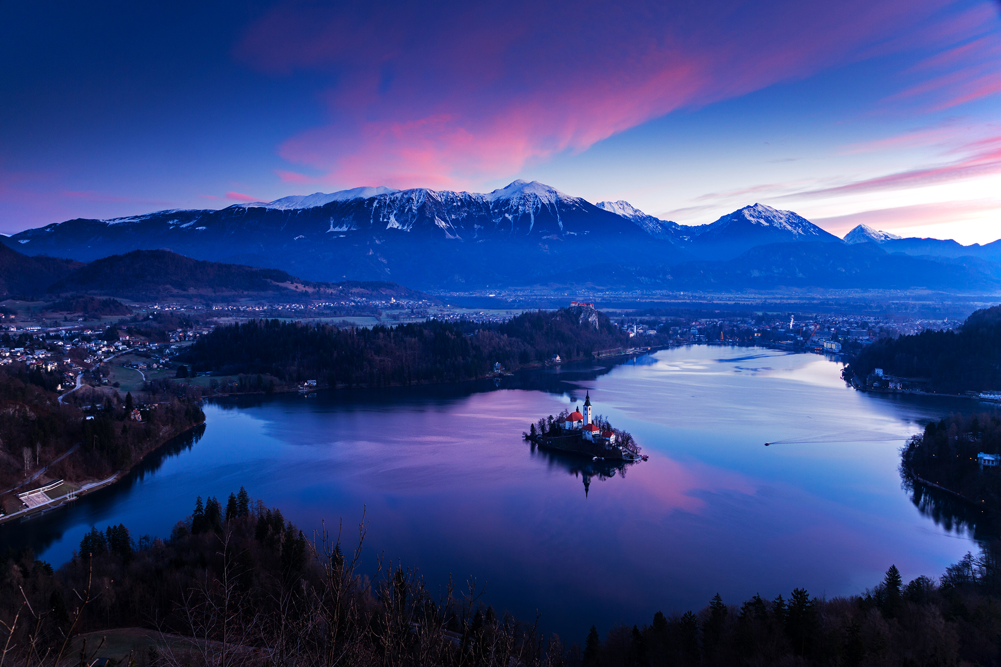 Photographing Lake Bled from Mala Osojnica