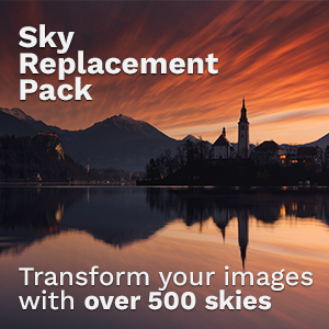 Sky replacement photos