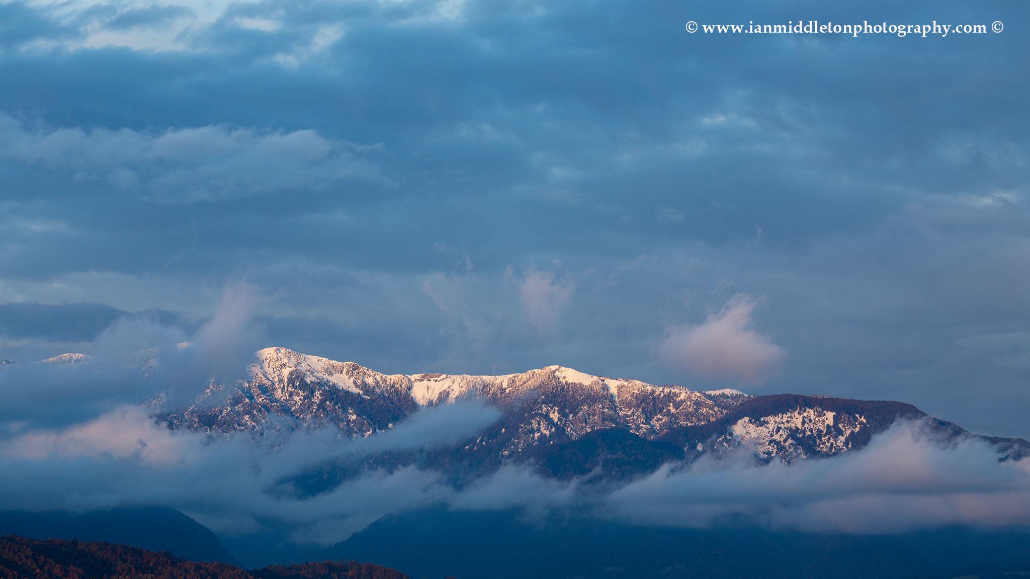 Mountain peak, Kamnik Alps, Slovenia.