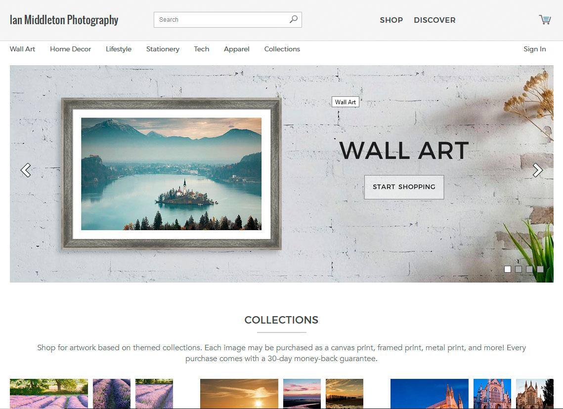 My Fine Art America Personal Website